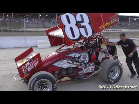 950 Horsepower: GoPro mounted to SPRINT CAR!