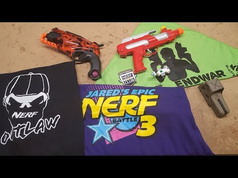 Captain Xavier blathers about Jared's Epic Nerf Battle