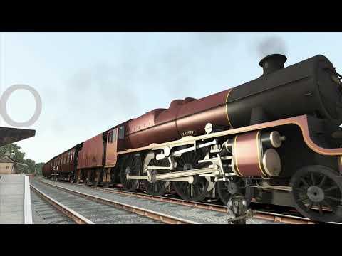 UK JUBILEE Class 4-6-0 Locomotive in Train Simulator  