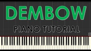 Danny Ocean Dembow - Piano Tutorial - Como tocar Dembow Synthesia.mp3