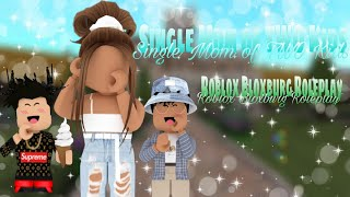 Single Mom of TWO Kids | Roblox | Bloxburg Roleplay