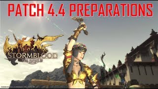 Final Fantasy XIV - Important things to repeare for Patch 4.4