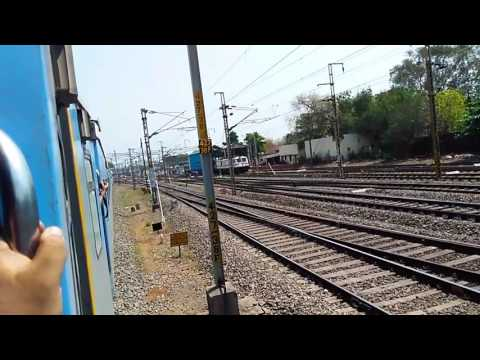 12796 Secunderabad Vijayawada Intercity Express Entering Vijayawada