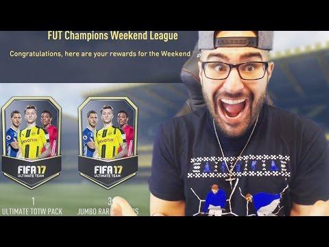TOP 100 FUT CHAMPIONS REWARDS, 1,000,000 COINS MADE FIFA 17