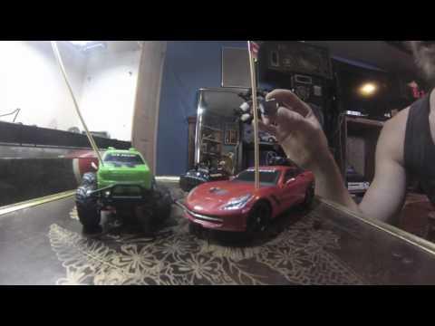New Bright RC Walmart MODS WHEELIE & DRIFT POWER- How to mod your walmart toys