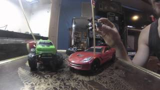 New Bright RC Walmart MODS WHEELIE & DRIFT POWER- How to mod your walmart toys