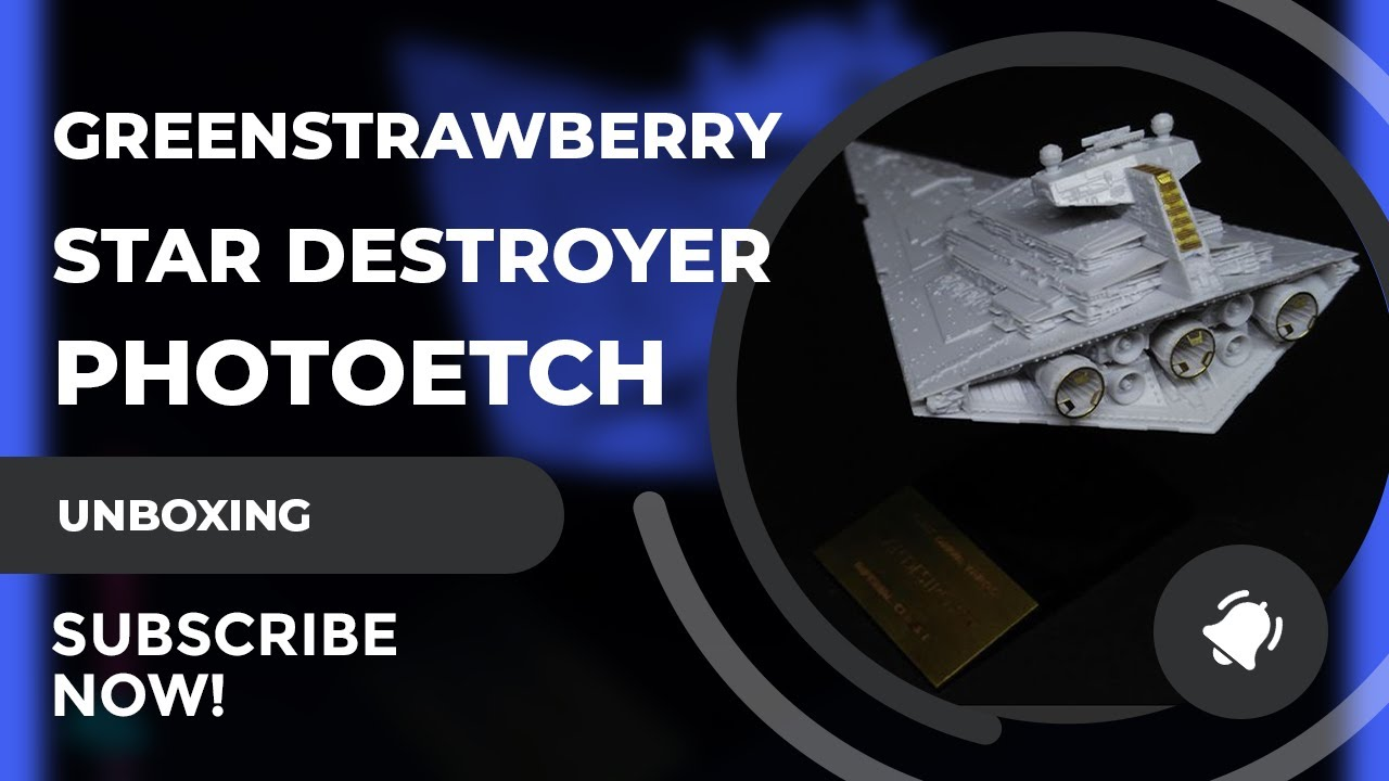 Greenstrawberry PE Set Review For The Bandai Star Destroyer