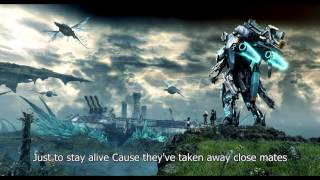 Black tar [Battle Theme] - Xenoblade X OST [With Onscreen Lyrics] (HQ 1080p HD)