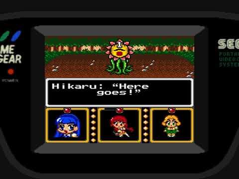Magic Knight Rayearth Sega Game Gear English Translation