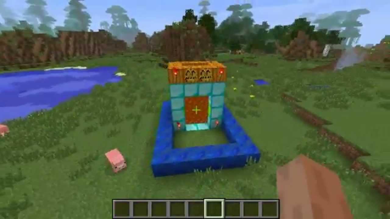 [Решено] Майнкрафт - как сделать портал в рай?
