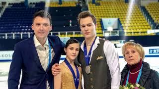 Панфилова и Рылов победили в соревнованиях спортивных пар на юношеских Олимпийских играх