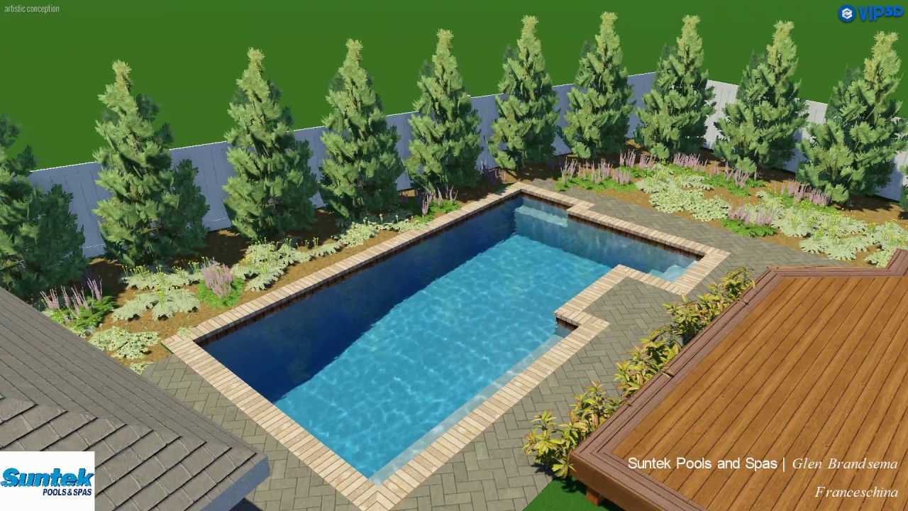 Vip3d 3d swimming pool design software youtube for 3d swimming pool design