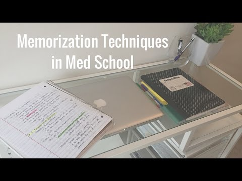 Memorization Techniques in Medical School | White Coat Chronicles
