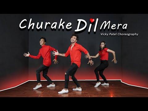 Churake Dil Mera Dance Video With Tutorial | Vicky Patel Choreography