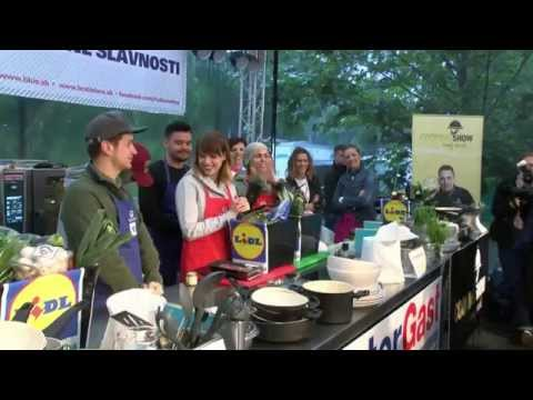 Slovak Food Festival 2015 Súťaž vo varení médií