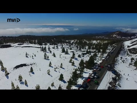 Nevada En Teide Tenerife Ultra HD 2016