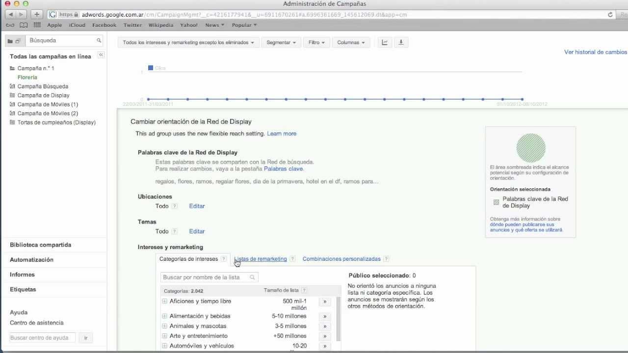 [Google AdWords] Tutorial: Campañas de Remarketing / Remarketing Campaigns