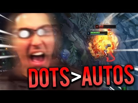 DOT DYR TOP VS TRYNDAMERE | YOU CAN'T TRADE DOTS WITH AUTOS!!! - Trick2g