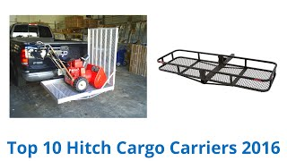 10 Best Hitch Cargo Carriers 2016