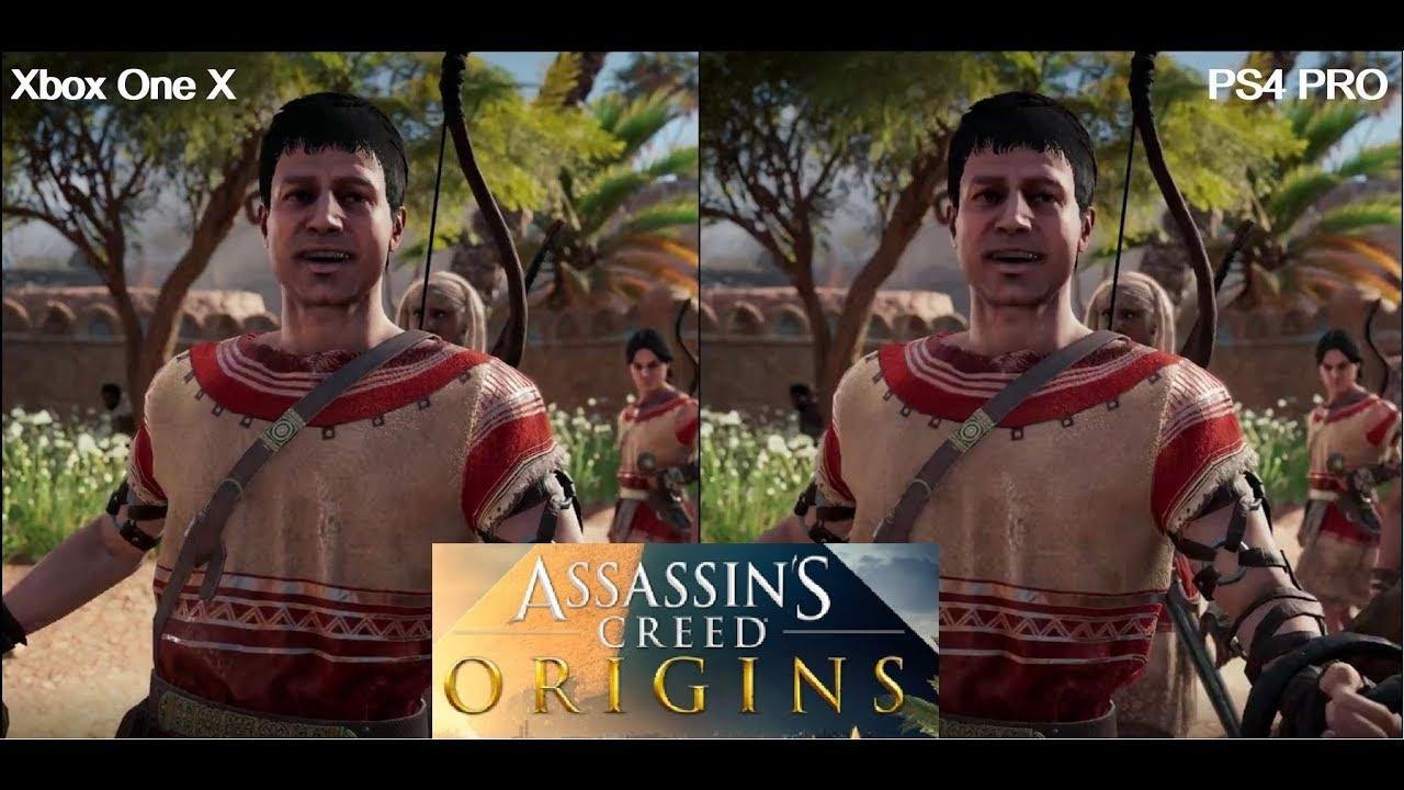 Assassins Creed Origins - PS4 PRO vs XBOX ONE X Graphics ...Ps4 Pro Graphics Vs Xbox One X