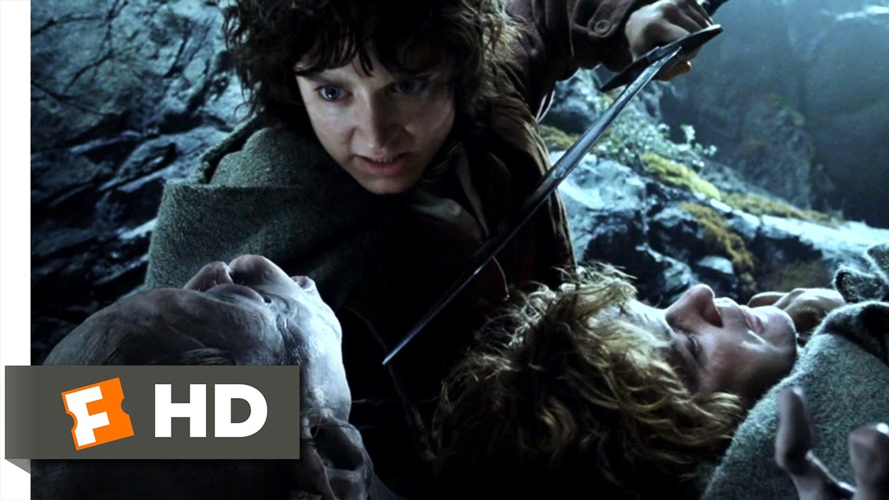 gollum the lord of the rings the two towers 1 9 movie clip