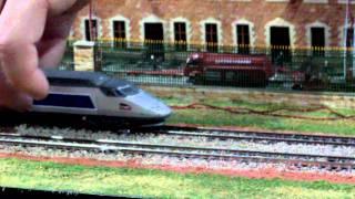 Mondial du modélisme - Parade TGV N 2/4