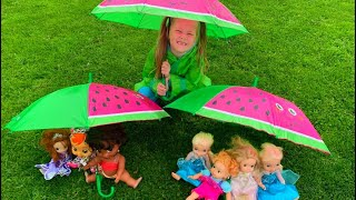 Rain rain go away kids song by Eva Surprise