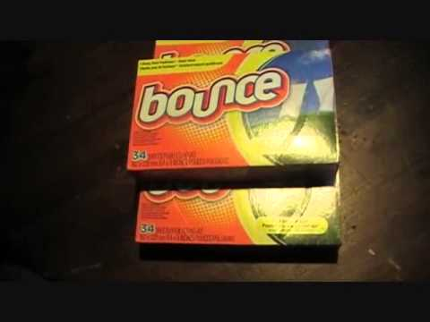Bounce Dryer Sheets - Prepping - Life Hack - Pest Control