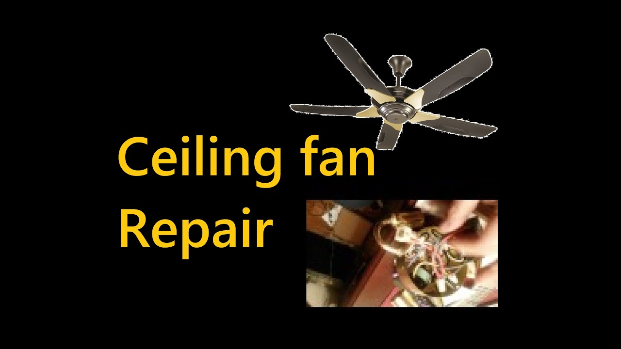 How to repair ceiling fan speed control