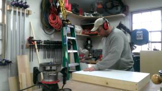 Tablesaw Router Extension Wing Part 3