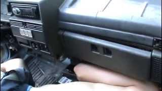 Как заменить радиатор печки ВАЗ 21099