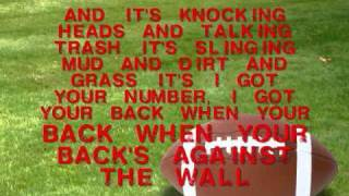 Boys Of Fall-Kenny Chesney ~lyrics!!~