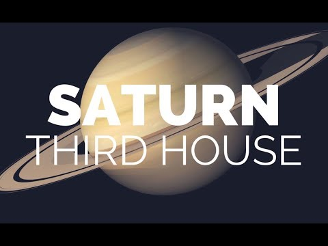 Saturn In The 3rd House/Capricorn Ruling The 3rd House | Hannah's Elsewhere