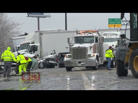 Horrific Crash Kills Two, Injures Several Others With Icy Roads On I95