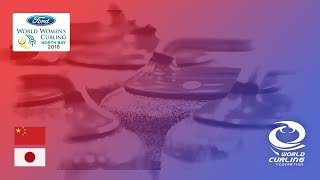 China v Japan - Round-robin - Ford World Women's Curling Championships 2018