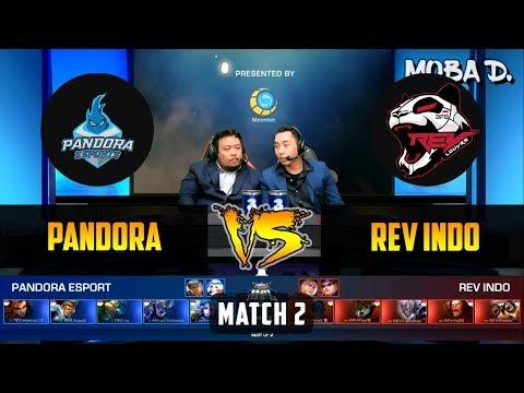Rev Indo VS Pandora eSport (PES) MATCH 2   MPL - ID Regular Season - Week 2