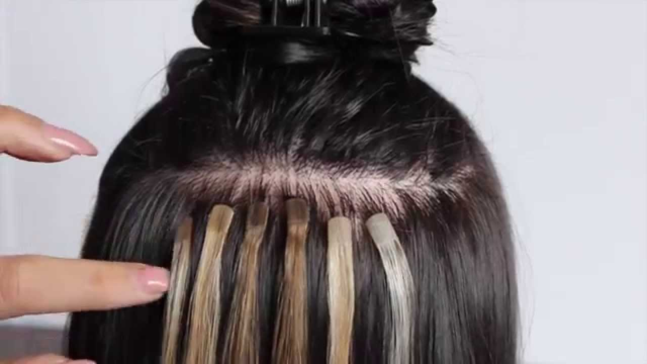 Tape in hair extensions how to apply glam strands youtube pmusecretfo Image collections
