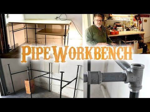 DIY Pipe Workbench - Table - How To