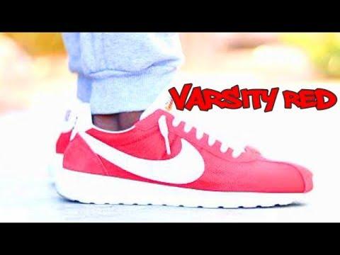 3f1c98d4d727e Nike Roshe LD 1000 QS Varsity Red Review   On Feet - YouTube