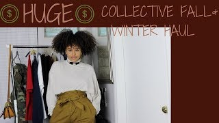 HUGE Collective Fall Winter Haul Mary Fasil