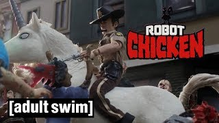 Catch Daniel Radcliffe and the cast of The Walking Dead in The Robo...