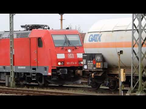 Zugbewegungen im Bahnhof Itzehoe ( Marschbahn )