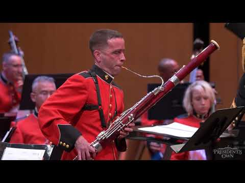 "WATSON Bassoon Concerto, Mvt. 1 - ""The President's Own"" United States Marine Band"