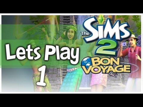 Let's Play - The Sims 2 Bon Voyage (Part 1) Three Lakes