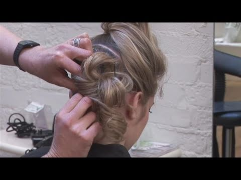 How To Do A Prom Updo Hairstyle Youtube