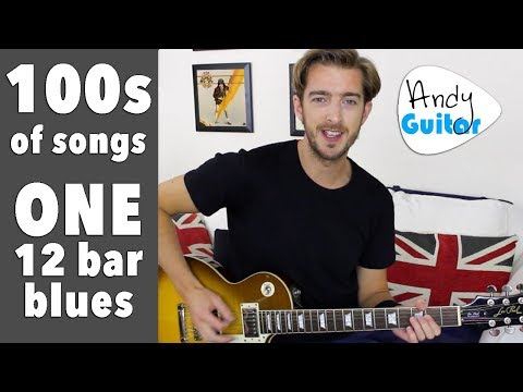 12 Bar Blues for Beginners - 100s of Rock n Roll songs; ONE chord sequence
