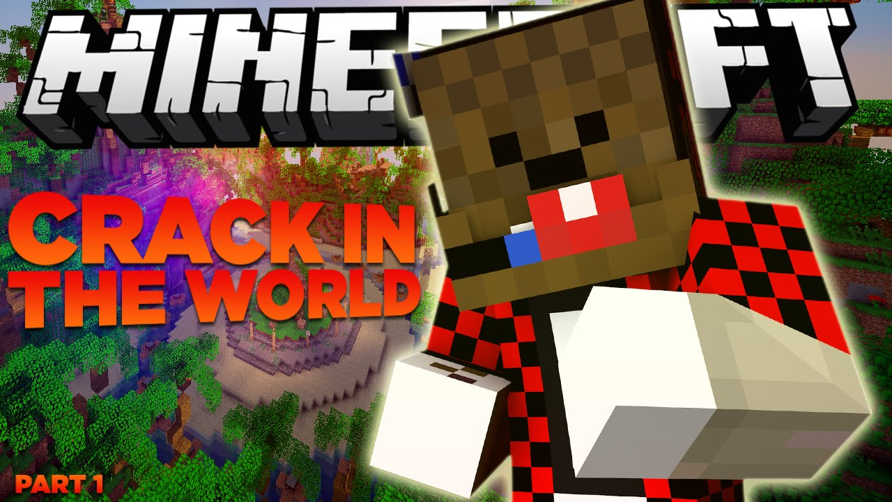 Crack in the world minecraft map