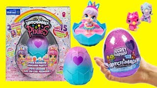 Hatchimals Pixie Rainbow Unicorn Party Exclusive Season 6 Secret Surprise