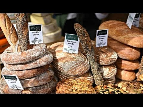 BOROUGH MARKET, STREET FOOD LONDON, WALK AROUND BOROUGH MARKET LONDON,