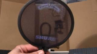 Unboxing: PS-6 Shure Popper Stopper Pop Filter